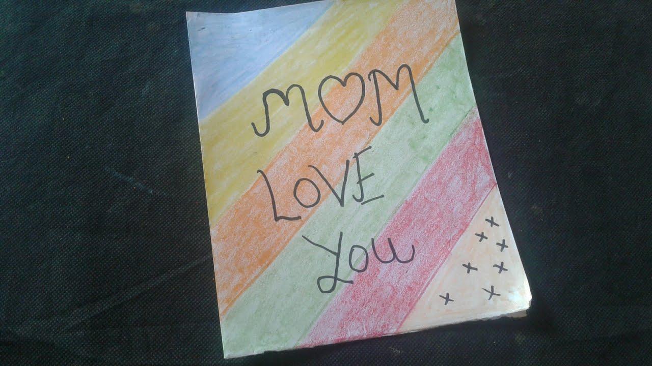 How To Make A Easy Card For Your Mom