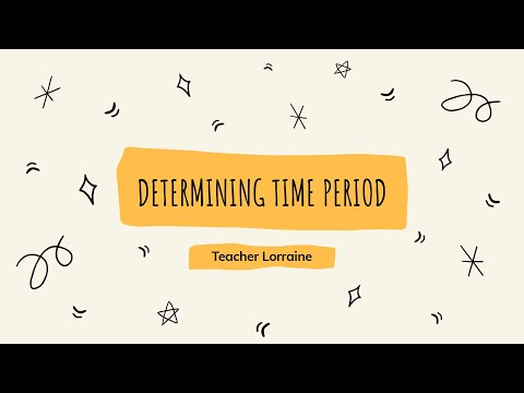 Determining Time Period || Business Mathematics