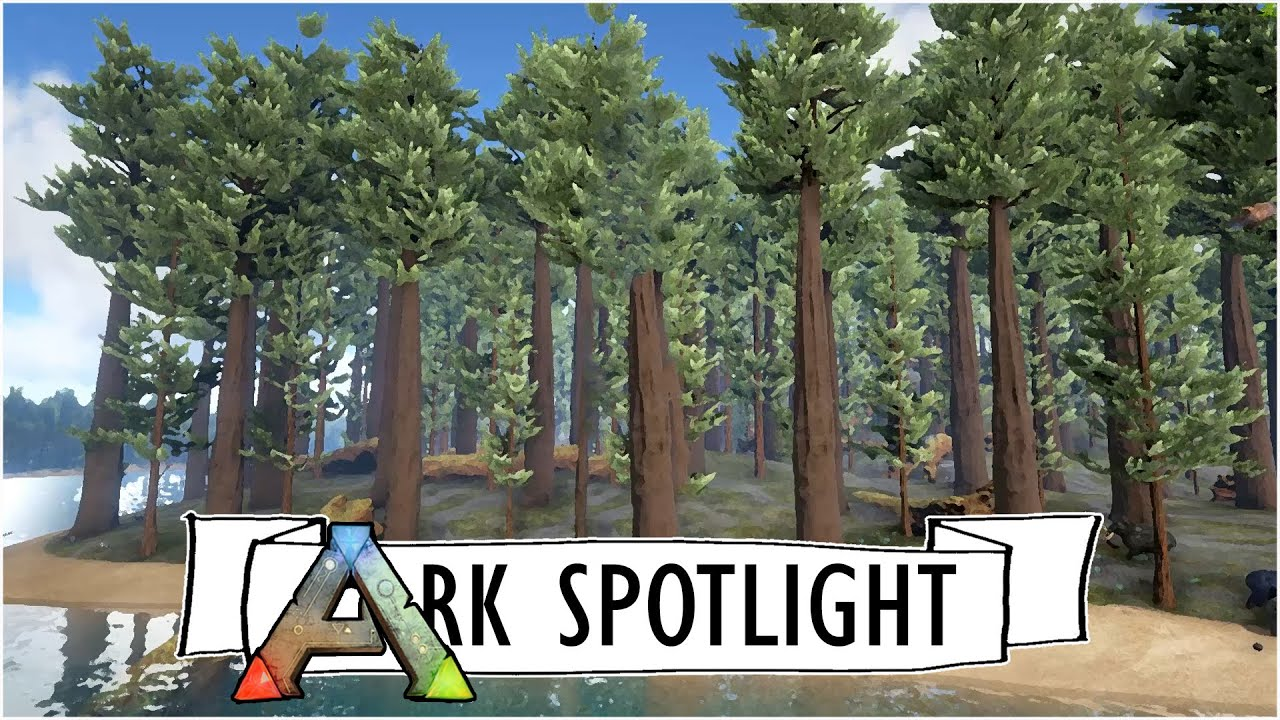 Redwoods Deep Forest Biome Preview Ark Survival Evolved Map Spotlight Wickwillow Custom By Unitetheclans Valentine Corsair Mm800 Rgb Polaris Gaming Mousepad