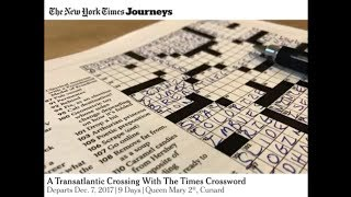 A Trans Atlantic Celebration of the Times Crossword thumbnail
