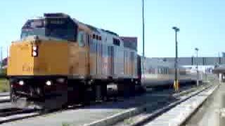カナダ VIA鉄道 コリドー号 ウィンザー ~ トロント ウインザー駅 2008...