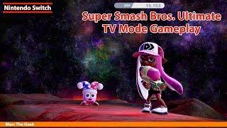 Super Smash Bros. Ultimate TV Mode Gameplay