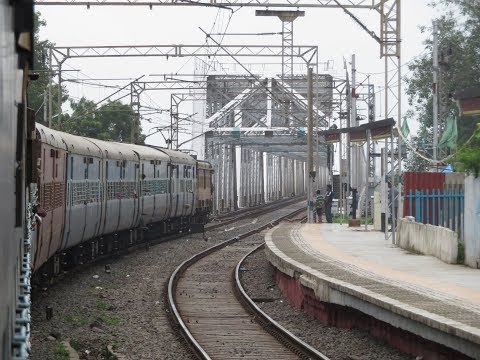 Ahmedabad Mumbai Full Journey: Historic Saurashtra Express, 25 Crossings