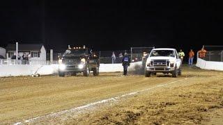 Buck Motorsports dirt drag racing 6.4 Powerstroke 5/ 7/16