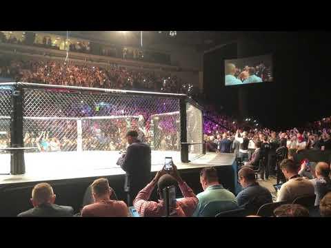Darren Till UFC Liverpool Entrance 'Sweet Caroline' - Incredible Atmosphere