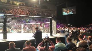 Darren Till UFC Liverpool Entrance 'Sweet Caroline' - Incredible Atmosphere