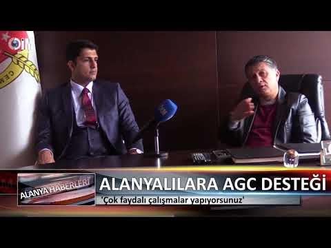 İstanbul Alanyalılar Derneğine  AGC Desteği - Dim Web TV