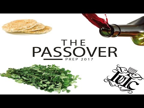 The Israelites: How to prepare the Passover