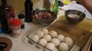 БЕЛОРУССКИЕ КЛЕЦКИ с мясом и грибами
