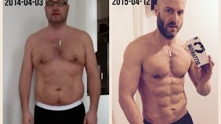 Amazing One Year Body Transformation