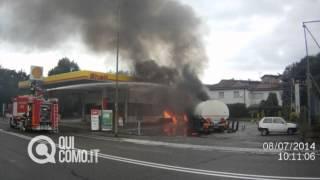 incendio benzinaio definitivo