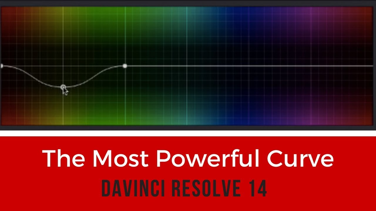 How to Master DaVinci Resolve's Most Powerful Curve in Less