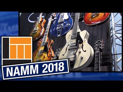 L&M @ NAMM 2018: Godin Guitars