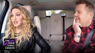 Madonna Carpool Karaoke: Coming Wednesday