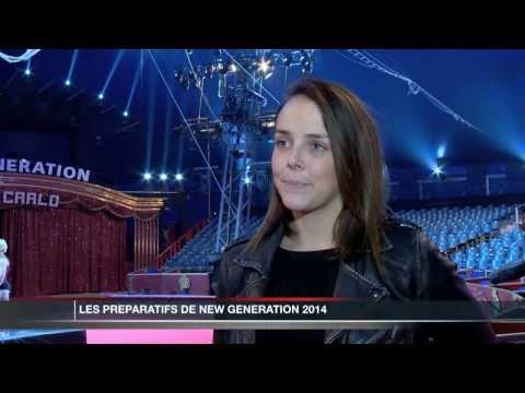 Préparatifs du Festival New Generation 2014 à Monaco