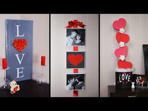 Крутые ИДЕИ на День Святого Валентина❤️DIY Valentine's Day❤️Ideas &  Room Decor