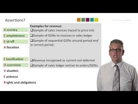 What is a condensed revenue assertion