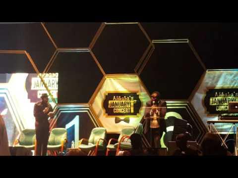 Video (stand-up): Alibaba January 1st Concert (2016) – Ambassador Wahala Does Patience Jonathan Voice