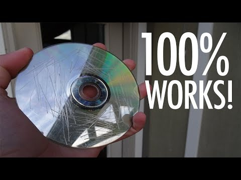 How To Fix Any Scratched Or Damaged Disc Works 100%