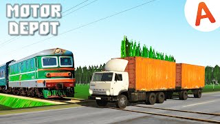 Motor Depot - Застрял на Переезде (мобильные игры)