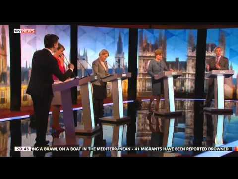 Miliband & Farage Debate European Army