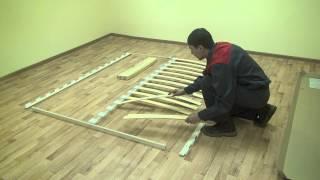 видео Bauhaus 2.1 Основание с гибкими ламелями (1600) Металл