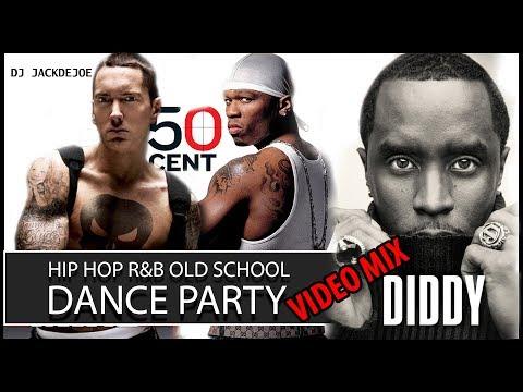 Hip Hop/ R&B Old School Dance Party Video Mix Best Old School Hip Hop Rap & RnB 2000s Throwback #3