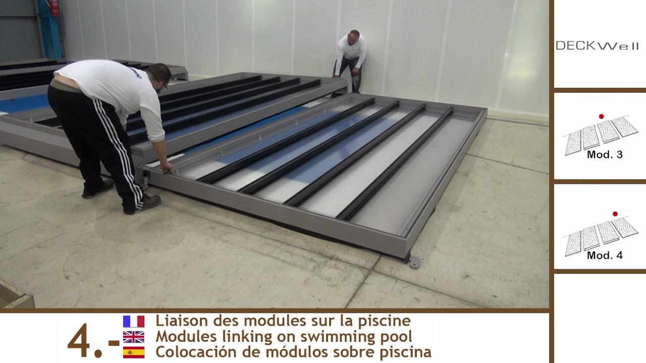 Tutorial 4 c mo se instala una cubierta de piscina for Como se construye una piscina