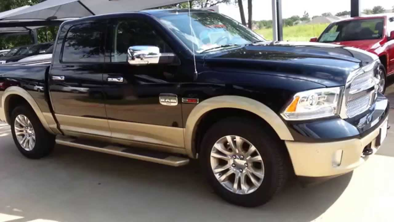 2014 ram 1500 eco diesel longhorn laramie edition truck. Black Bedroom Furniture Sets. Home Design Ideas