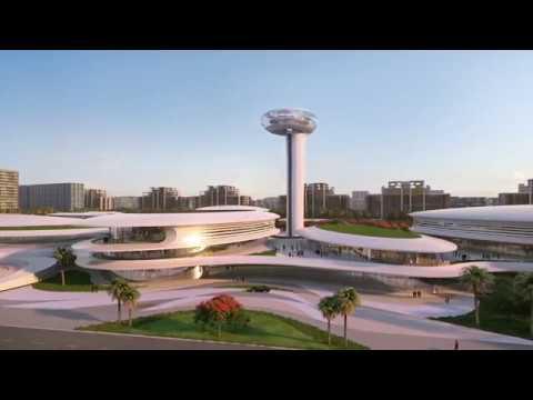Arada reveals final masterplan of Aljada's Central Hub in th