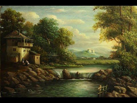 Landscape Oil Painting Techniques Youtube