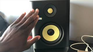 New G4 KRK Rockit 5 Short Review and Sound Test.