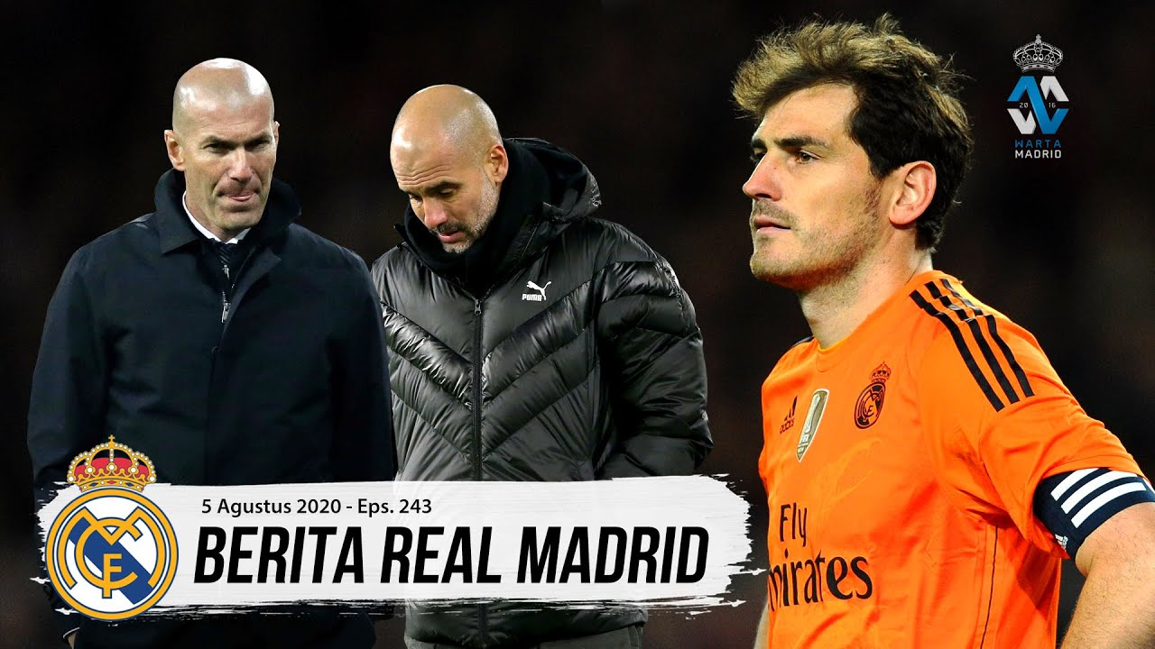 MAN CITY vs REAL MADRID! Duel Pertahanan Terbaik & Serangan Terbaik | Muchas Gracias San Iker