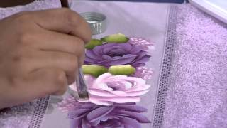 Pintura Rosa Toalha de Rosto por Ana Laura Rodrigues – Parte 2