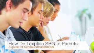 How do I explain standards-based grading to parents?