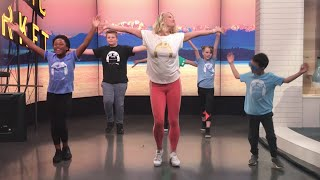 A weekly class held at schools across western washington aims to help kids work off excess energy while learning be more flexible and coordinated.