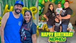 OUR NEPHEW'S 3RD BIRTHDAY!
