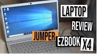 JUMPER EZBOOK X4 INTEL GEMINI N4100 QUAD CORE BUDGET LAPTOP REVIEW: 128GB M.2 SSD AND 4GB RAM