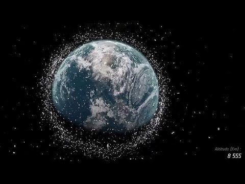 Growing problem of space debris could hinder future exploration