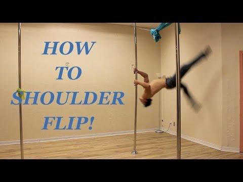 Doctor Ken's Pole Ninja Tutorials: Shoulder Flip!