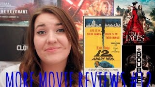 More Movie Reviews #12 - Tale of Tales, 12 Angry Men and More.