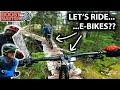My Honest Opinion on E-Bikes... With Richie Schley and Wade Simmons! | Jordan Boostmaster