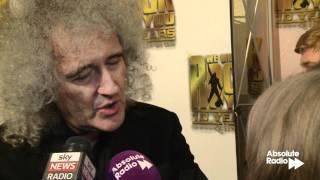 Brian May talks about the Freddie Mercury biopic
