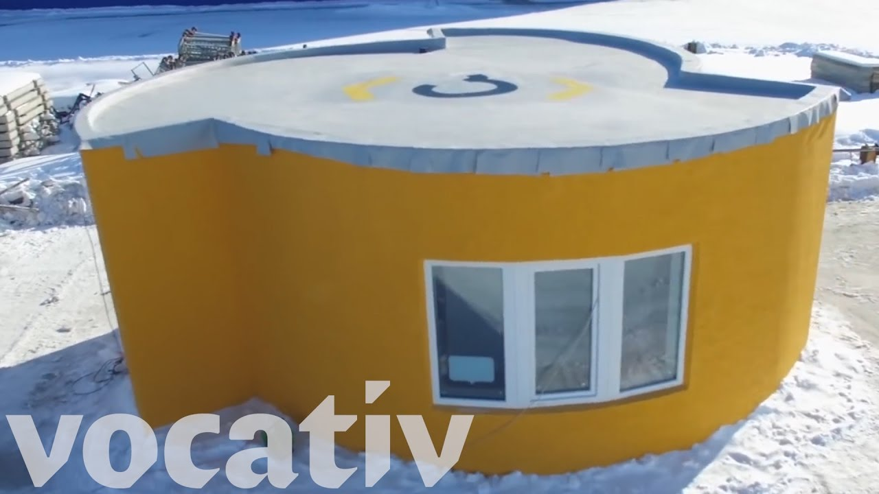 3D Printed House Took 24 Hours To Build - YouTube
