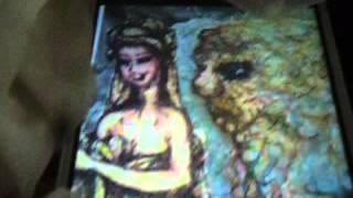 소탈한 여인과 복코 호랑이