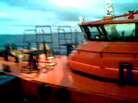 Лоцманский катер порт Рига