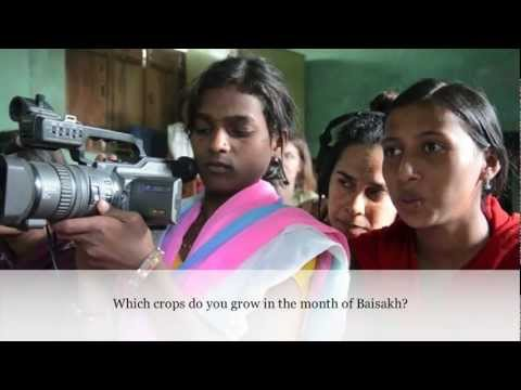 Participatory video training in Nepal