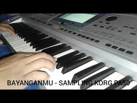 BAYANGANMU-SAMPLING KEYBOARD KORG PA50