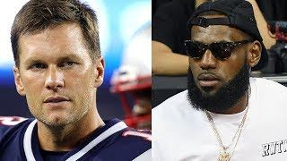 Tom Brady CAUGHT RECRUITING LeBron James To The Patriots!
