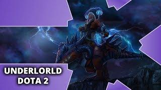 Niewzruszony przez całą grę - Underlord - Dota 2